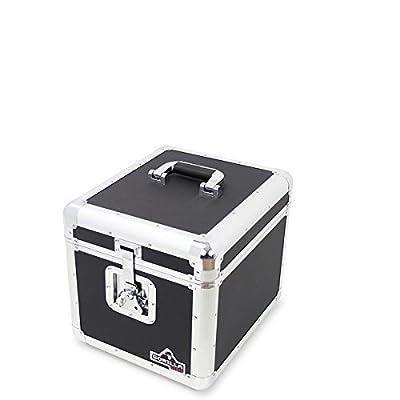 "Gorilla LP100 Holds 100pcs 12"" Vinyl LP 12"" Record Box Storage Case inc Lifetime Warranty"