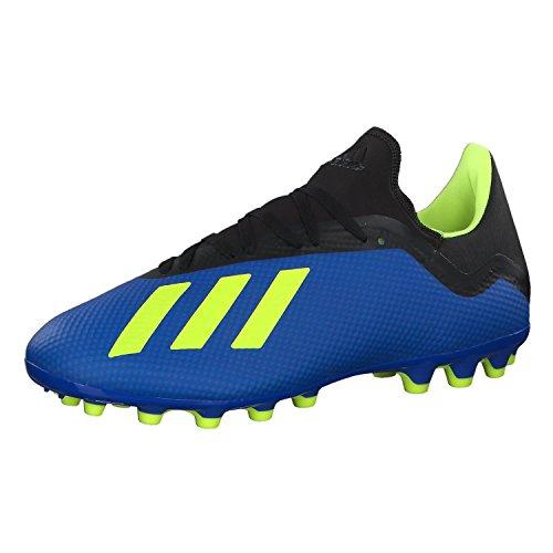 huge selection of 90ab5 6e9bf adidas X 18.3 AG Chaussures de Football Homme, Bleu (Fooblu Amasol Negbás