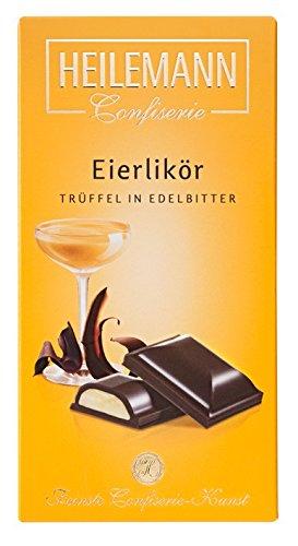 Eierlikör Trüffel Edelbitter Schokolade gefüllt 100 g Tafel