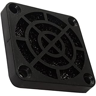 Aerzetix: 2 x PC Computer Cooling Fan, Protection Grids 40x40 mm and a Dust Filter 45ppi