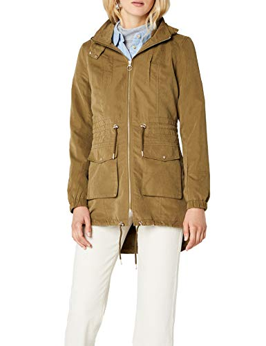 ONLY Damen Parka onlSTARRY Long Jacket CC OTW, Grün Military Olive, 38 (Herstellergröße: M)
