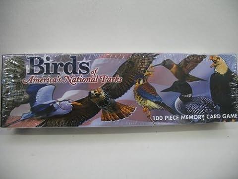 Birds of America's National Parks Memory Card