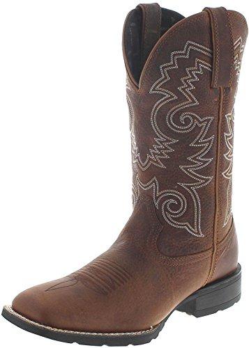 Durango Boots Mustang DDB0083 Brown/Herren Westernreitstiefel Braun/Westernstiefel/Herrenstiefel/Work Boots, Groesse:46 (12 US) -