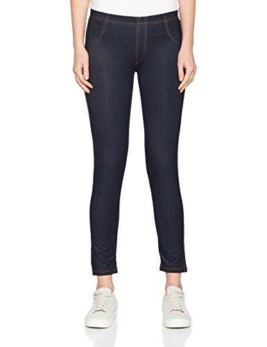 Nur Die Damen Leggings Treggings Blau (Dunkel Jeans 339), S (38-40)