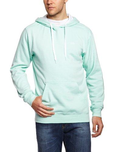 Vans CORE BASICS PULLOVER HOODIE - Sweat-Shirt À Capuche - Col Chemise Classique - Manches Longues - Homme Vert (Pale Mint)