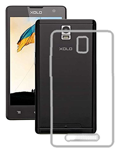Exclusive Soft Silicon Transparent Crystal Clear Case Soft Back Case Cover For Xolo Era