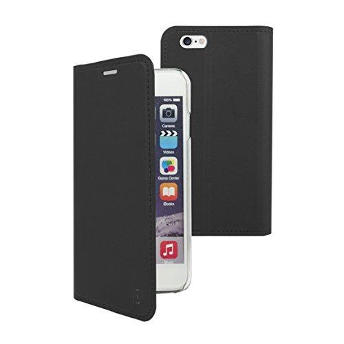 Muvit mufls0050Schutzhülle Folio mit Standfunktion und Kartenschlitzen für Apple iPhone 7Plus Schwarz