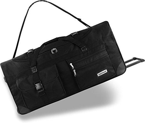 normani XXL Reisetasche mit Trolleyfunktion - 80, 100, 120 oder 150 Liter - mit 3 Rollen und 3 Verstärkungsstreben Größe 150 Liter