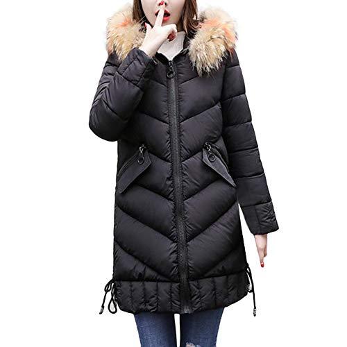 Bazhahei giacca donna,moda lungo giacca cappuccio cotone imbottito,cappotto donna invernale elegante tumblr cappotto eleganti parka giacche giubbotto donna trench donna manica lunga maglione