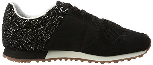 Pepe Jeans Londra Damen Verona W Flash Sneaker Schwarz (nero)