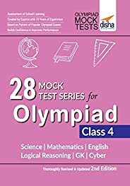 28 Mock Test Series for Olympiads Class 4 Science, Mathematics, English, Logical Reasoning, Gk & C
