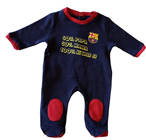 Fc Barcelone Grenouillère bébé Barça - Neymar Junior - Collection Officielle