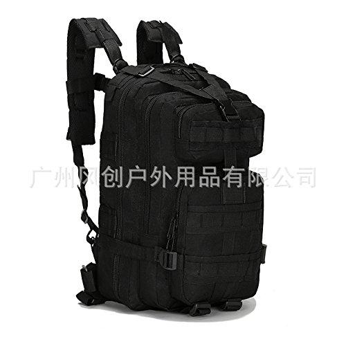 Escursionismo Zaini, borse, borse da trekking, borse all'aperto, impermeabile Zaino multifunzionale 3P zaino borsa a tracolla 20L Tempo libero Escursioni bag,camouflage black