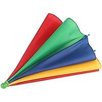 Unitedheart Regenschirmhut, beweglicher Fischen-kampierender Strand Regenschirm-Hut-Mehrfarbenkappe Sun-Regen-Regenschirm nagelneuer heißer