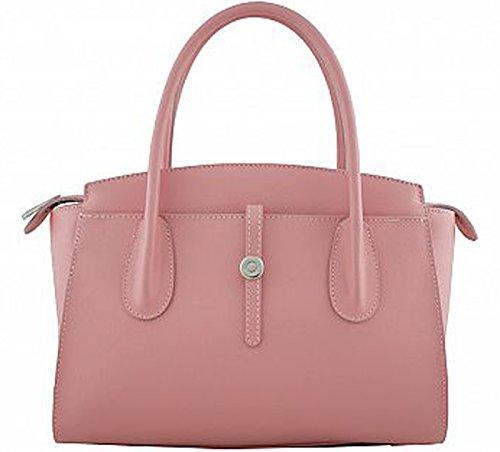 G&G PELLETTERIA , Sac pour femme à porter à l'épaule rose