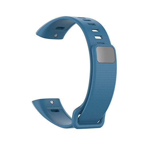 Huawei Band 2 / Band 2 pro Smart Armband Silikon Komfortable Herren- und Damenmode Abnehmbare Uhrarmband Wuqy