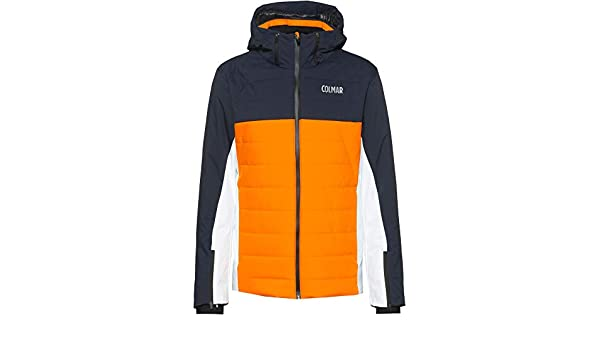 Colmar Sapporo Men's Ski Jacket Orange 52: Amazon.co.uk