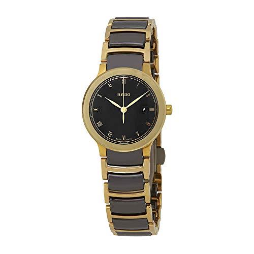 Rado Centrix da donna 28mm Bicolore bracciale in acciaio placcato oro di...