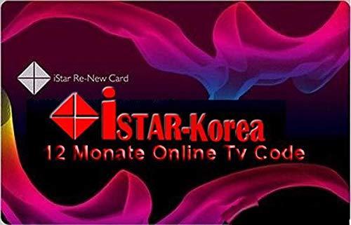 istar korea Online Code 12 Months For All Istar Korea Models