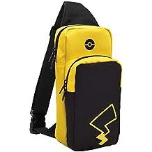 Hori Borsa A Tracolla per Switch Trainer Pack (Pikachu) - Ufficiale Nintendo e Pokémon - Nintendo Switch