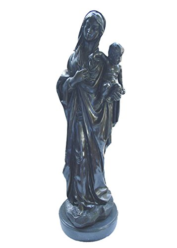 Toperkin Statue Home Deko Mum Son Bronze Sculpture Folk Art Dekorations Virgin Mary Bronze Statue TPY-640 Virgin Garten Statue
