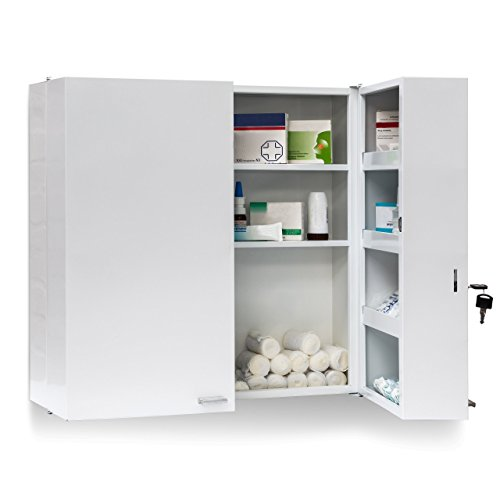 relaxdays-xxl-steel-medicine-cabinet-53-x-53-x-20-cm-with-11-shelves-locking-door-2-keys-white