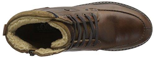 s.Oliver 16216, Bottes Rangers Homme Marron (Cigar 314)