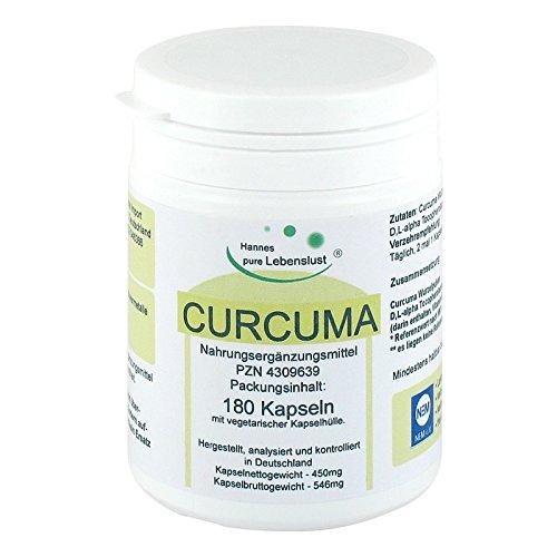Curcuma Vegi Kapseln 180 stk
