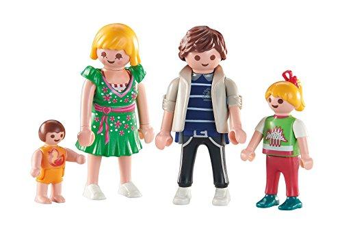 Playmobil 6530. Familia de 4 miembros