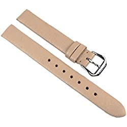 Festina Replacement Watch Strap Leather Band 12 mm Beige F16247/4 °F16247/