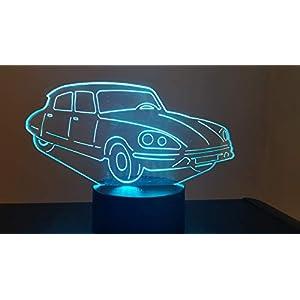 CITROËN DS, 3D-Lampe LED