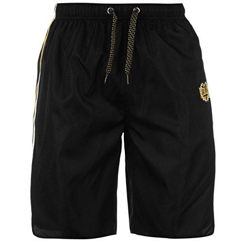 everlast-herren-fitness-shorts-leicht-sommer-freizeit-sporthose-kurze-hose-black-yellow-medium