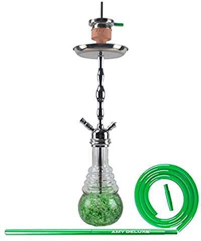 Amy Shisha Deluxe Glorious 630D Silver-Shaft