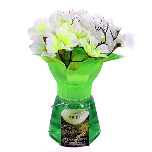 Lufterfrischer - Blumenstrauß - Essenz aus grünem Tee - Frühlingsparfüm - Nachfüllbar mit Duftwasser oder ätherischen Ölen - Schuhe Blumensträuße