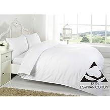 Sábanas de puro algodón egipcio de 400 hilos, muy suave, calidad de cama de
