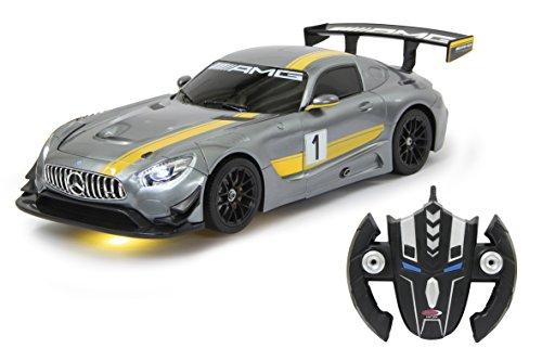 Jamara 410028 - Modelo de Mercedes AMG GT3 Transformable (1:14, 2,4 GHz), Color Gris