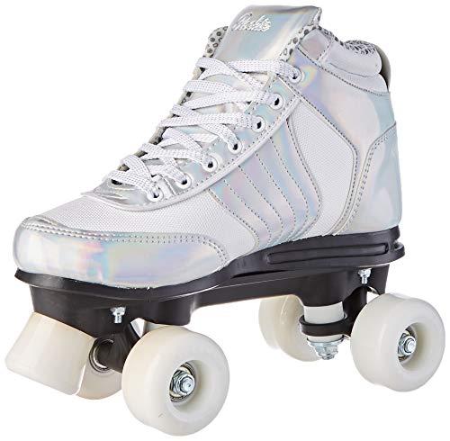 Rookie Forever Disco Skates Damen, Damen, RKE-SKA-2088, Plata (Silber), 39.5