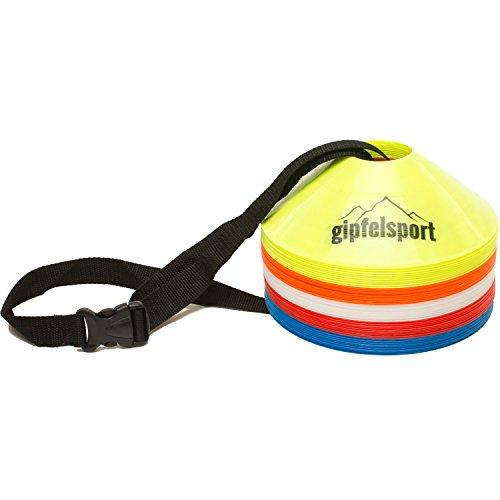 50 St/ücke Sport H/ütchen Set zur Markierung Handball oder Trainingshilfe f/ür Koordination Markierungsh/ütchen von KUYOU Hockey Markierungsteller f/ür das Training im Fussball