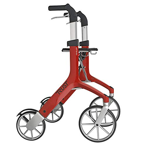 Trust Care Rollator Let\'s Fly grau