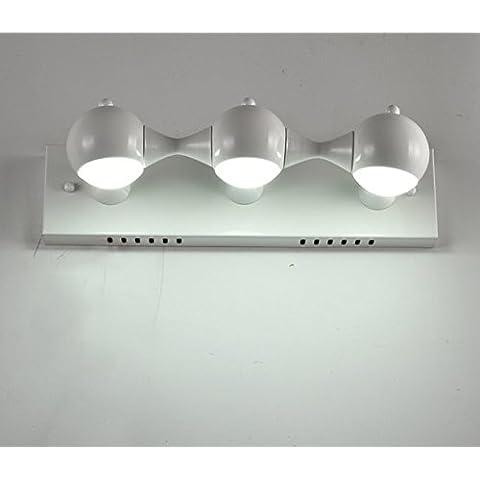 Moderno minimalista parete lampada parete balcone veranda Stadio bar caffetteria ristorante lampada lampada da parete,Doppia testa