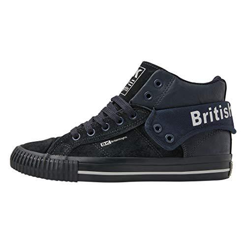 British Knights ROCO Damen HIGH-TOP-Schuh Sneaker-39 EU-Dunkelblau/Dunkelblau