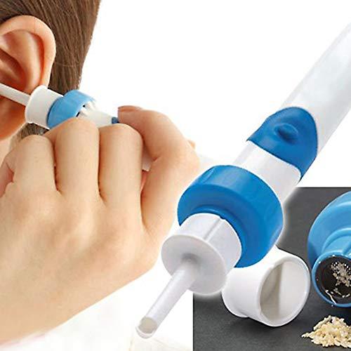 JM-D Ohrenschmalz Entferner Elektrische Ohrenreiniger Ohrreiniger Aus Edelstahl mit Aufbewahrungskiste für Die Babypflege Kinder Erwachsene ältere Menschen -