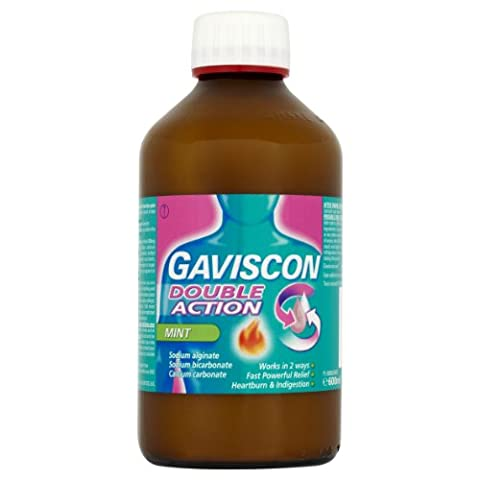 Gaviscon Double Action Mint Liquid 600ml