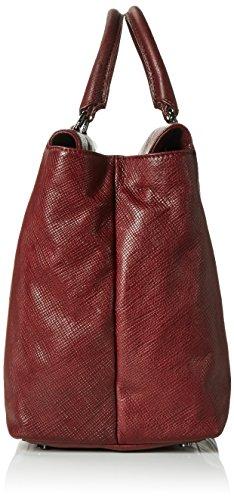 BREECouco 2, br. red print, work shopper W16 - Borsa shopper Donna Rot (brick red 160)