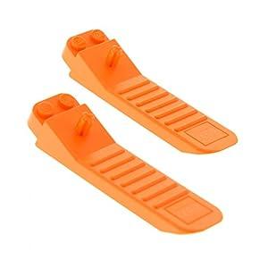2x LEGO Sistema steinlöser Arancione PIETRA trennhilfe SEPARATORE ATTREZZO Mattoncini Brick SEPARATORE 96874 Giocattolo LEGO