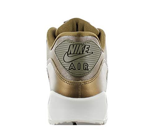 Nike Air Max 90 Premium Donne Calzature Gold Edition Scarpe