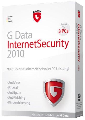 G Data InternetSecurity 2010 3PC