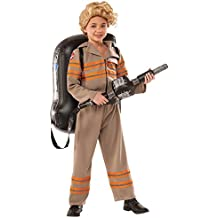 Girls Deluxe Ghostbuster's Movie Fancy Dress Costume Small