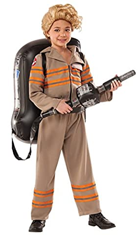 Ghostbusters 3 Deluxe Costume Child Small (Kinder Slimer Kostüm)