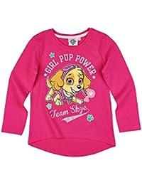 La Pat  Patrouille - Camiseta de manga larga - Manga Larga - para niña 32740c080a4